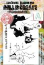 AALL and Create A6 Clear Stamp Set #4 by Olga Heldwein